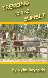 trekking to the sunset - book cover